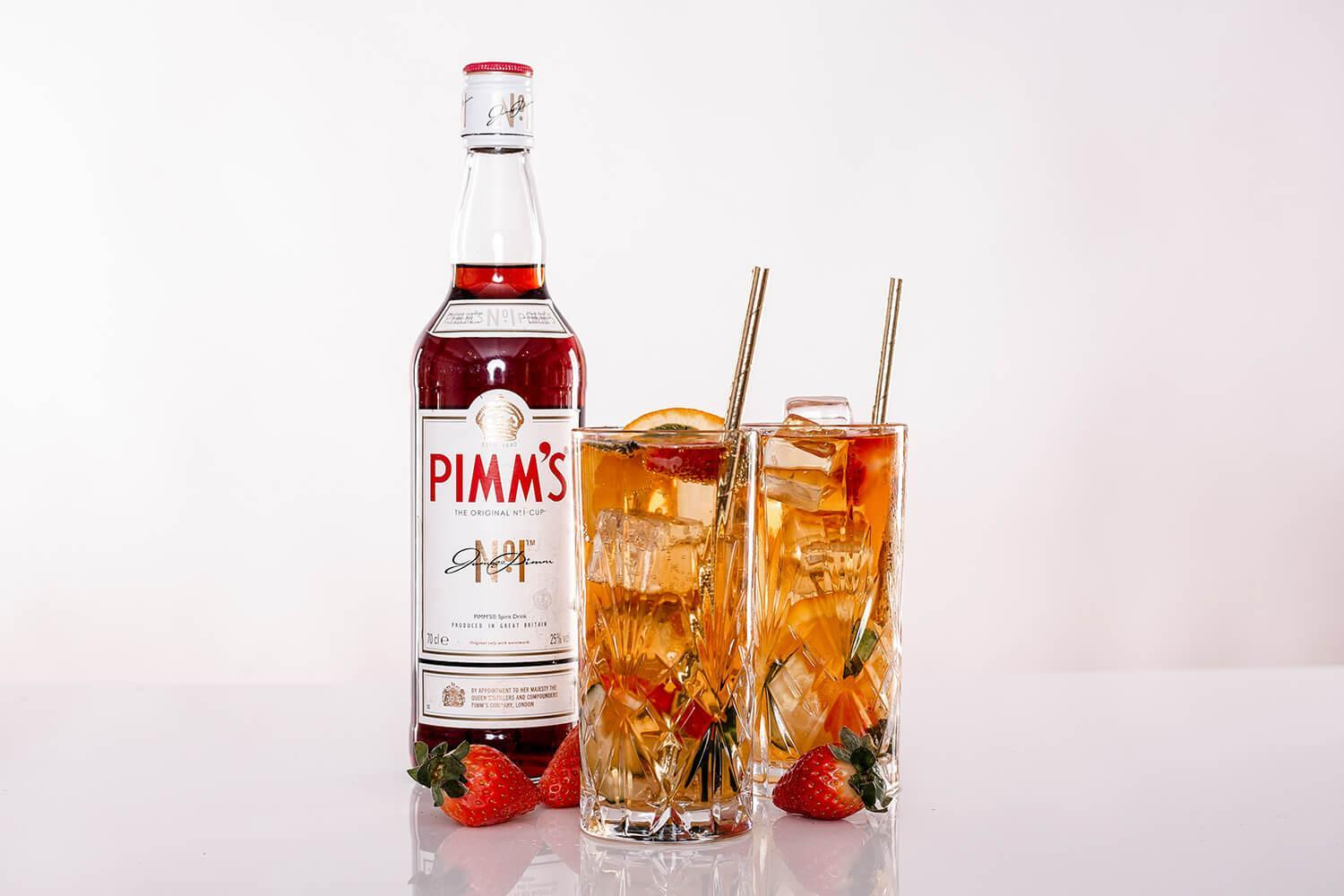 Pimms Welcome Drinks