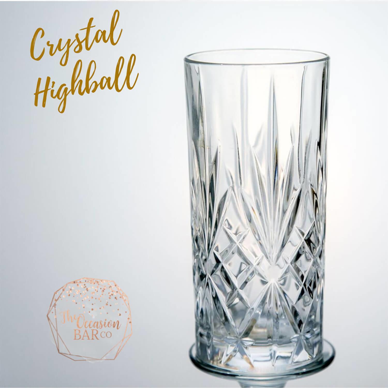 Glass Hire Crystal Highball