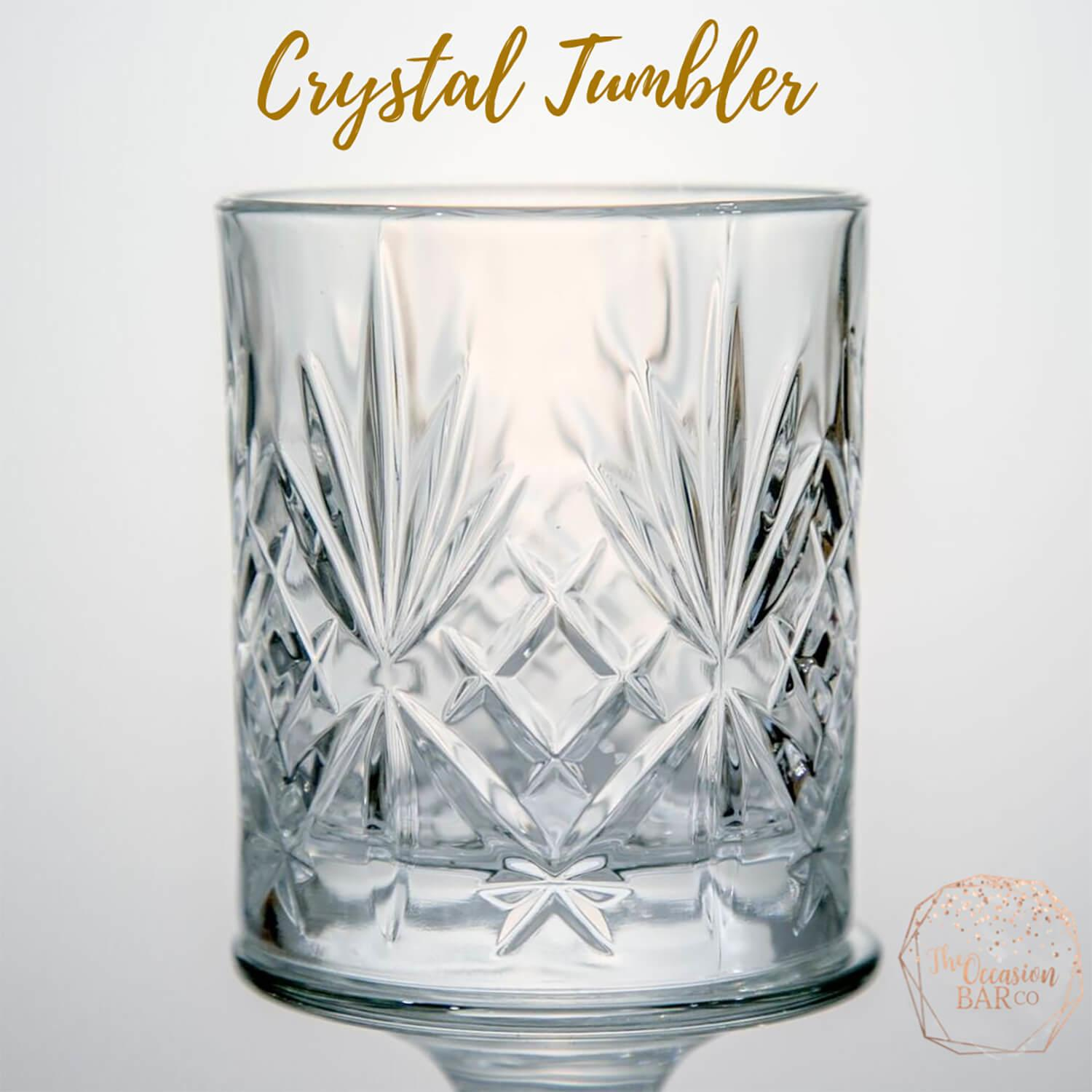 Glass Hire Crystal Tumbler