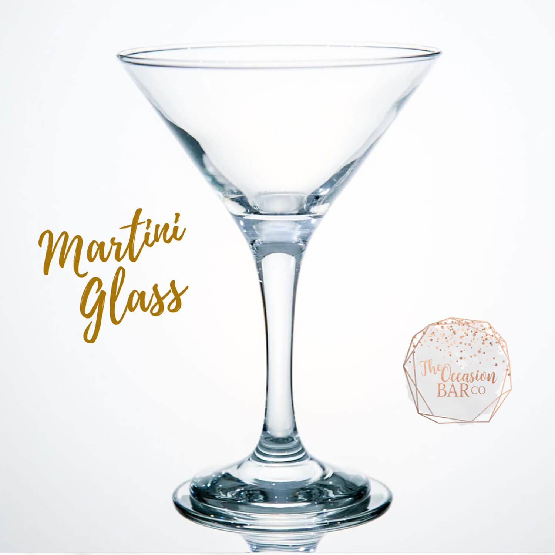 Glass Hire Martini Glass