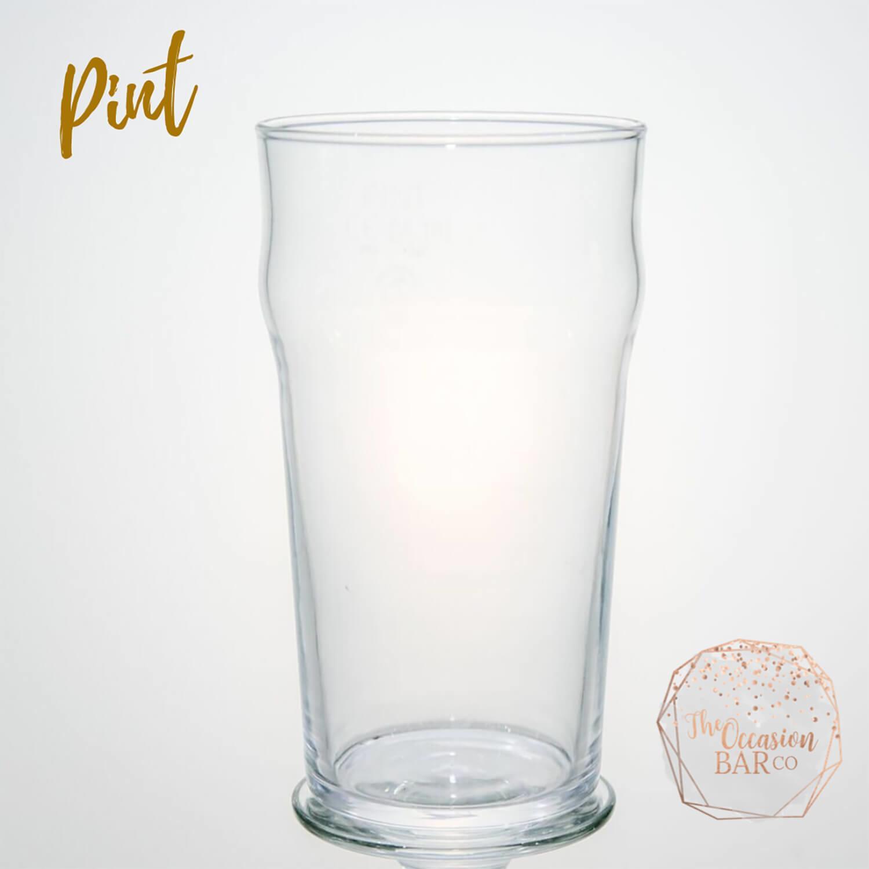 Glass Hire Pint