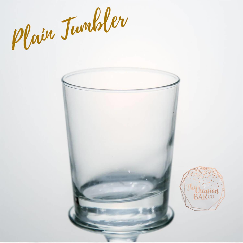 Glass Hire Plain Tumbler