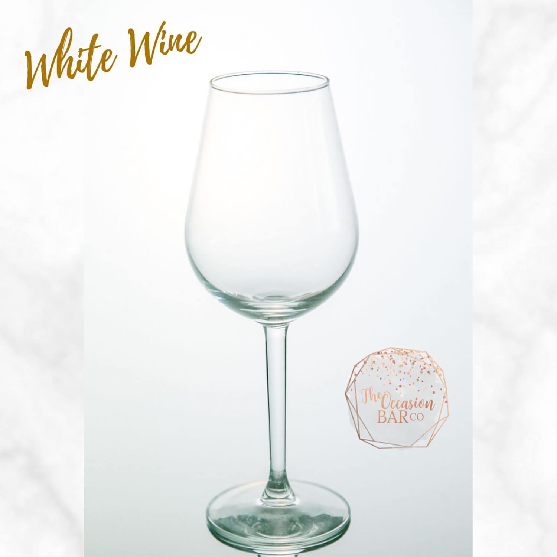 Glass Hire White Wine